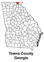 Towns County in the State of Georgia